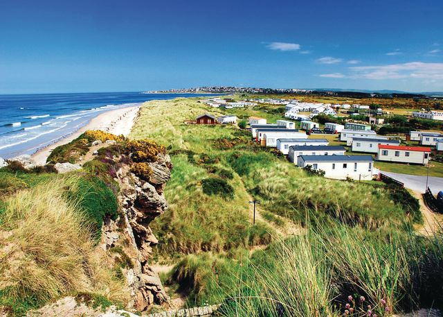 Silver Sands Holiday Park, Lossiemouth,,Scotland