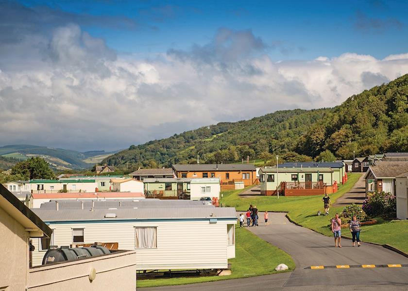 Clarach Bay Holiday Village, Aberystwyth,,Wales