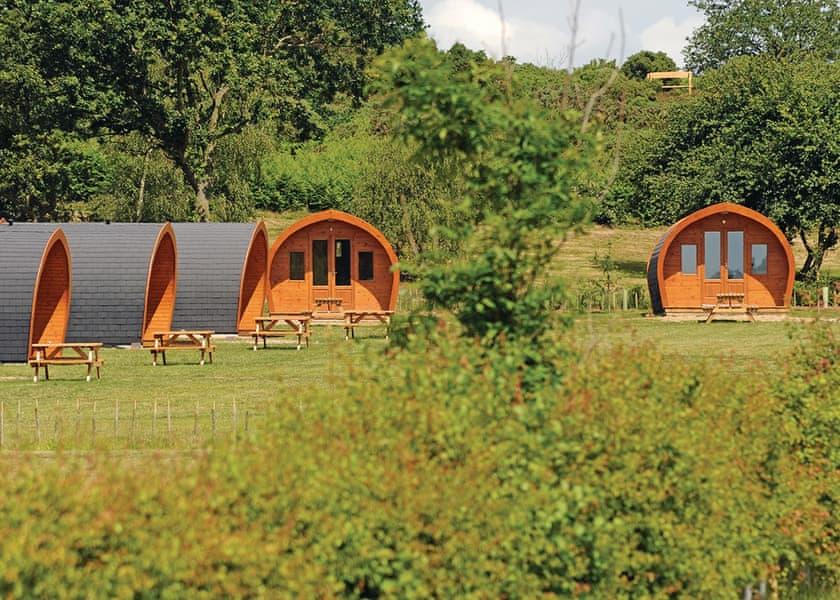 Heathside Pods, Halesworth,Suffolk,England