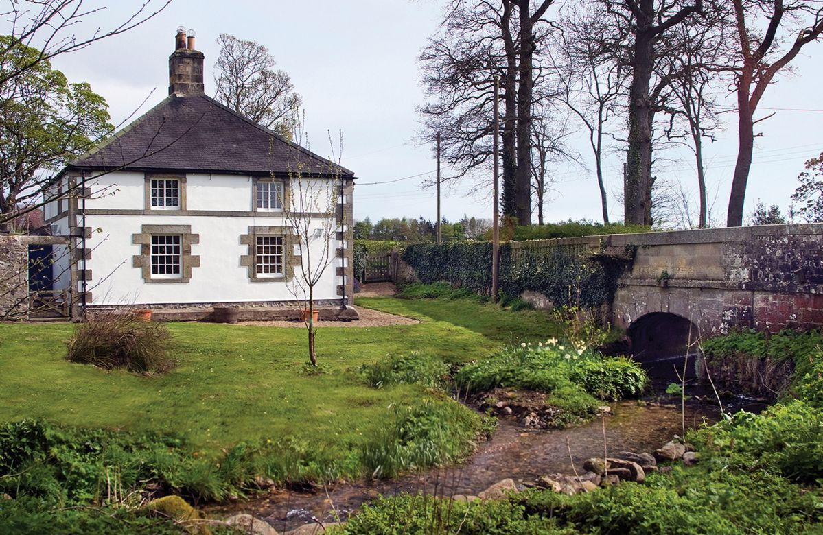 Click here for more about Haughton Castle - White Lodge