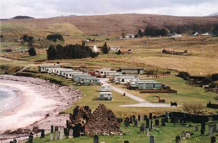 Gruinard Bay Caravan Park, Laide,Highlands,Scotland