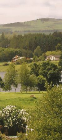 Halleaths Caravan and Camping Park, Lockerbie,Dumfries and Galloway,Scotland