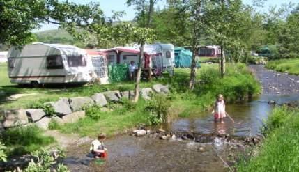 Hendwr Caravan Park, Corwen,Denbighshire,Wales
