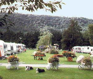 Bodnant Caravan Park, Llanrwst,,Wales
